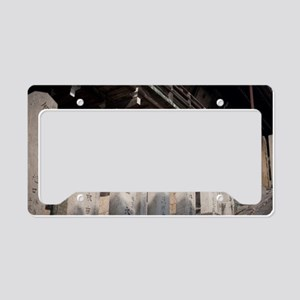 Nigatsu-do Stone Monuments License Plate Holder