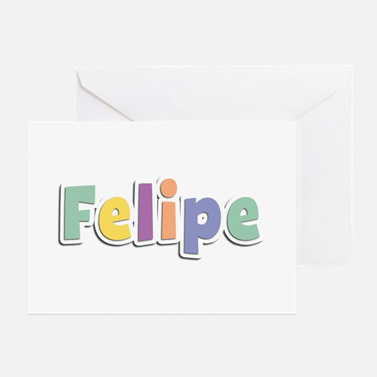 Felipe Spring14 Greeting Card