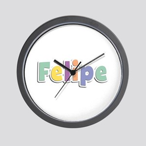 Felipe Spring14 Wall Clock