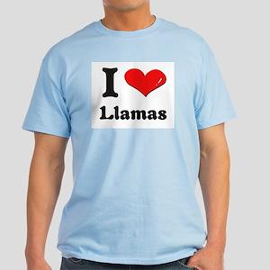 I love llamas Light T-Shirt