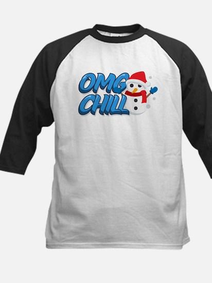 Emoji OMG Chill Snowman Tee