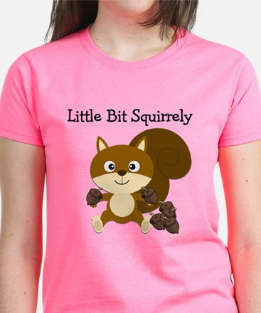 Squirrely Women's Dark T-Shirt