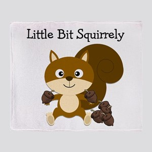 Squirrely Throw Blanket