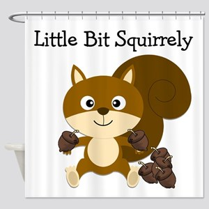 Squirrely Shower Curtain