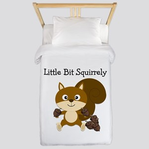 Squirrely Twin Duvet