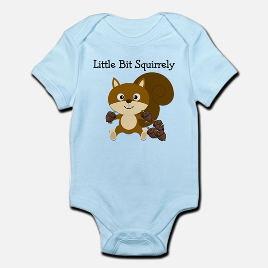Squirrely Infant Bodysuit
