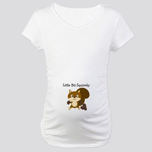 Squirrely Maternity T-Shirt