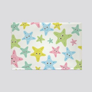 Sweet Starfish Rectangle Magnet