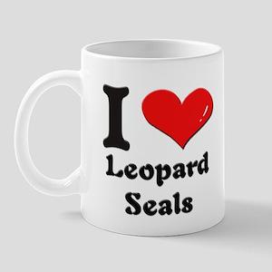 I love leopard seals  Mug