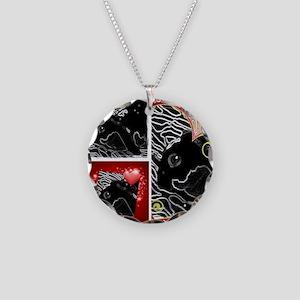 Velveteen Rabbit Beauty! Necklace Circle Charm