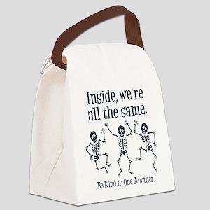 SAME INSIDE Canvas Lunch Bag