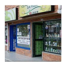 Bogota Storefronts Tile Coaster