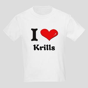 I love krills Kids Light T-Shirt