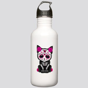 Cute Pink Day Of The Stainless Water Bottle 1.0l