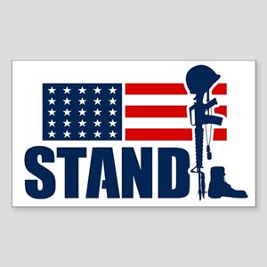 STAND Sticker (Rectangle)