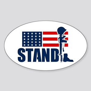 STAND Sticker (Oval)