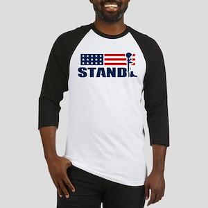 STAND Baseball Tee
