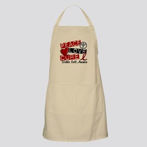 Sickle Cell Anemia PeaceLoveCure1 Apron