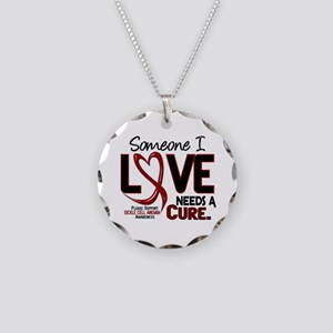 Sickle Cell Anemia NeedsaCur Necklace Circle Charm