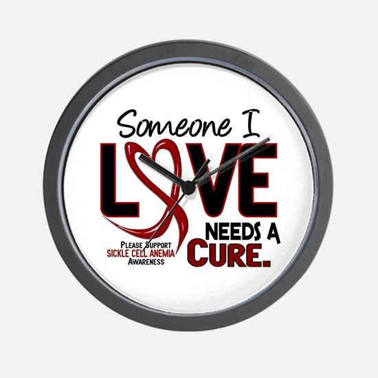 Sickle Cell Anemia NeedsaCure2 Wall Clock