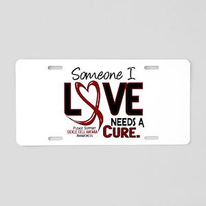 Sickle Cell Anemia NeedsaCu Aluminum License Plate