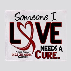 Sickle Cell Anemia NeedsaCure2 Throw Blanket