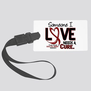 Sickle Cell Anemia NeedsaCure2 Large Luggage Tag