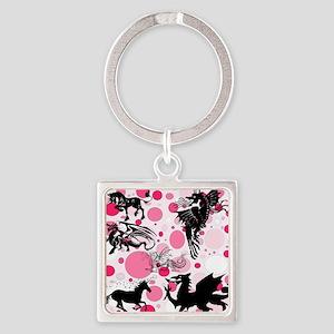Fantasy in Pink Keychains