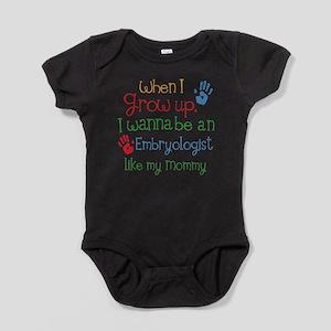 Embryologist Like Mommy Baby Bodysuit