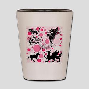 Fantasy in Pink Shot Glass