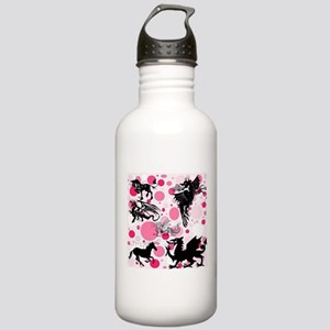 Fantasy in Pink Water Bottle