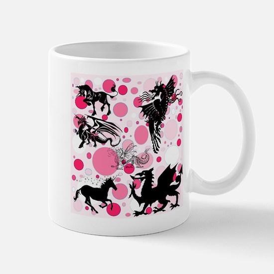 Fantasy in Pink Mugs