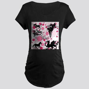 Fantasy in Pink Maternity T-Shirt