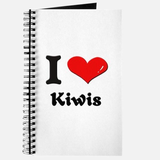 I love kiwis Journal