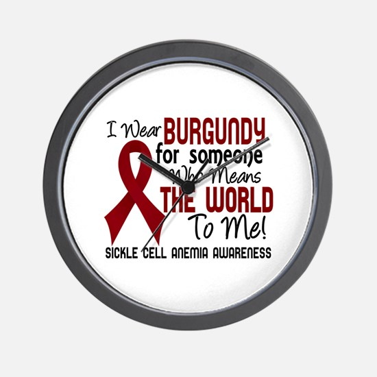 Sickle Cell Anemia MeansWorld2 Wall Clock