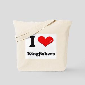 I love kingfishers Tote Bag
