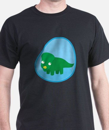 Little green dinosaur in the womb T-Shirt