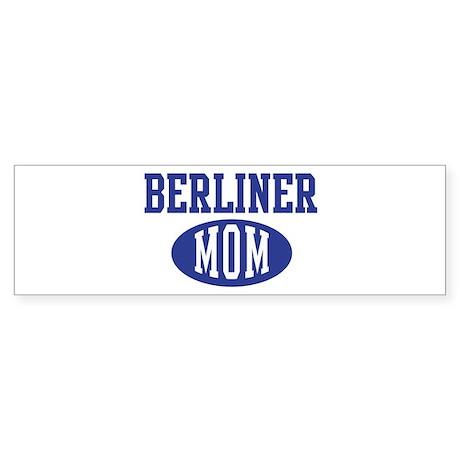 Berliner mom Bumper Sticker