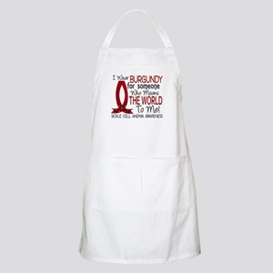 Sickle Cell Anemia MeansWorld1 Apron