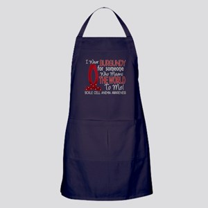 Sickle Cell Anemia MeansWorld1 Apron (dark)