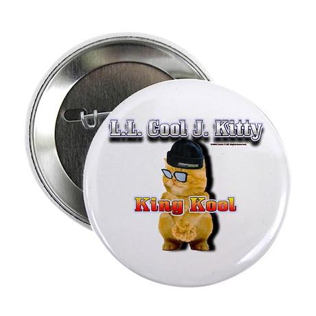 "2.25"" Button (10 pack)LL Cool J Kitty King Kool 3D"