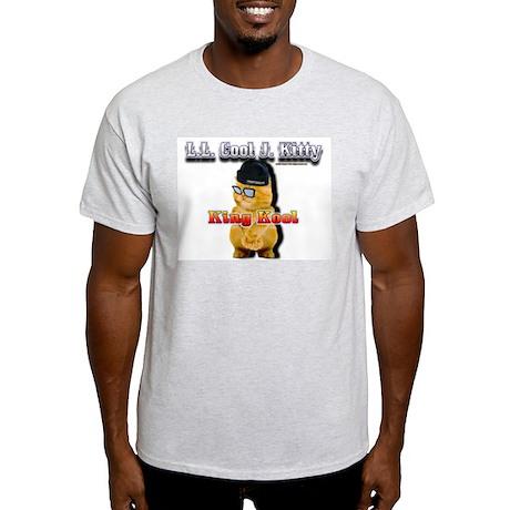 Ash Grey T-Shirt LL Cool J Kitty King Kool 3D