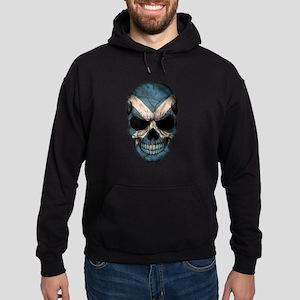 Scottish Flag Skull Hoodie