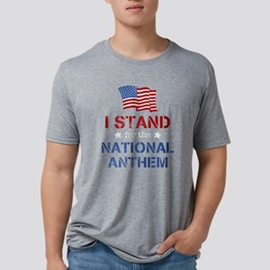 Stand For the Anthem Mens Tri-blend T-Shirt
