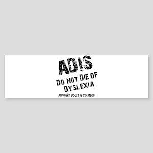 The AIDS Bumper Sticker
