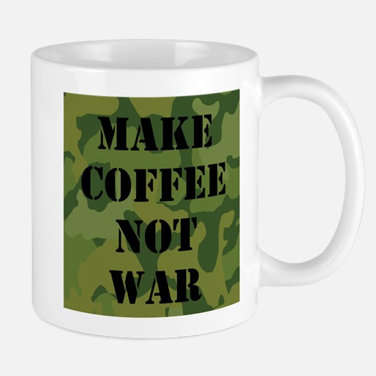 Make coffee not war Mugs