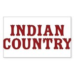 Indian Country Title Sticker