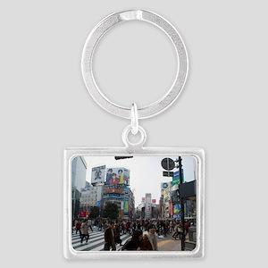 shibuya crosswalk Landscape Keychain