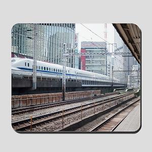 shinkansen train Mousepad