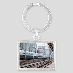 shinkansen train Landscape Keychain